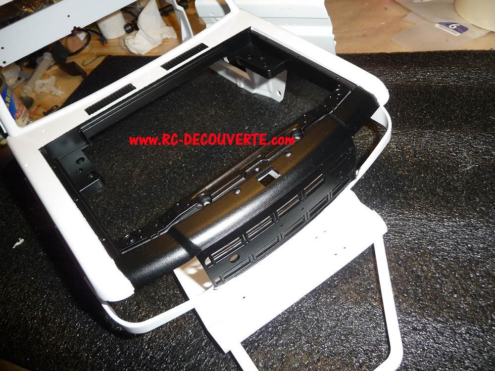 Montage carrosserie Toyota Land Cruiser LC70 Killerbody du Kit BRX01 Carros22
