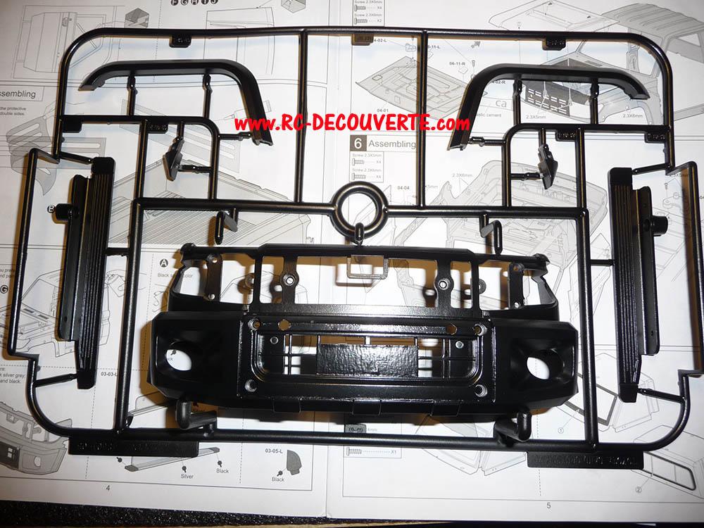 Montage carrosserie Toyota Land Cruiser LC70 Killerbody du Kit BRX01 Carros23