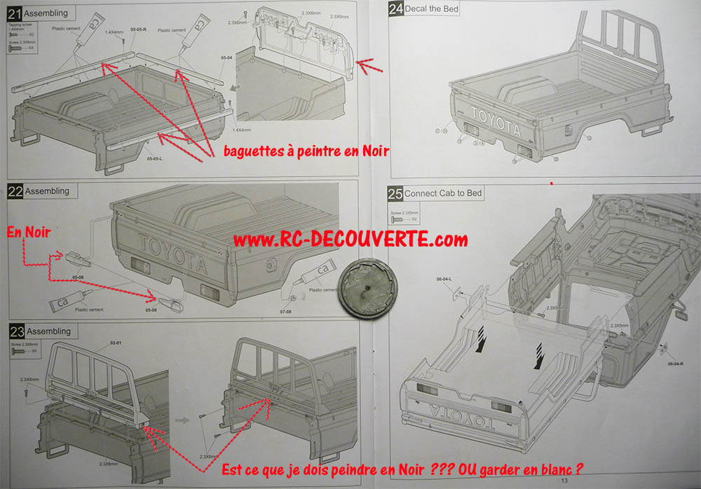 Montage carrosserie Toyota Land Cruiser LC70 Killerbody du Kit BRX01 - Page 2 Carros28