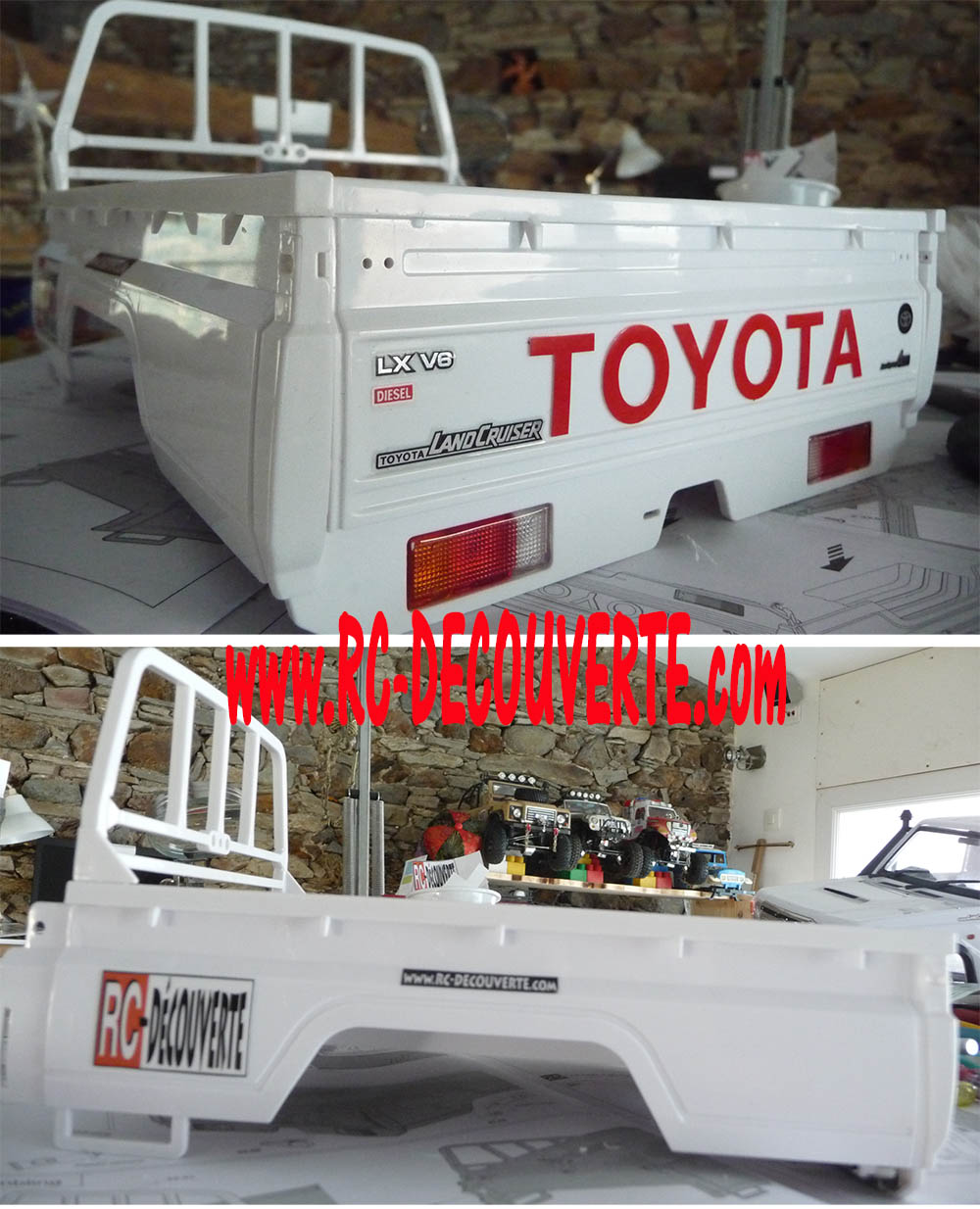 Montage carrosserie Toyota Land Cruiser LC70 Killerbody du Kit BRX01 - Page 2 Carros29