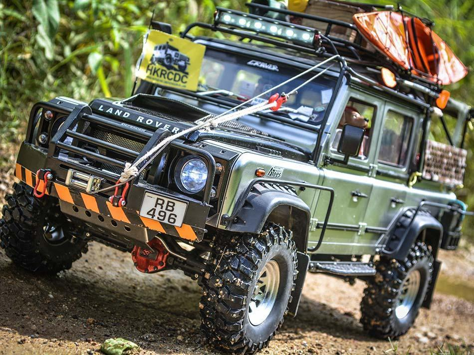 Defender Station Wagon D110 Boom Racing ARTR by Chichi44 - Page 2 Defend13
