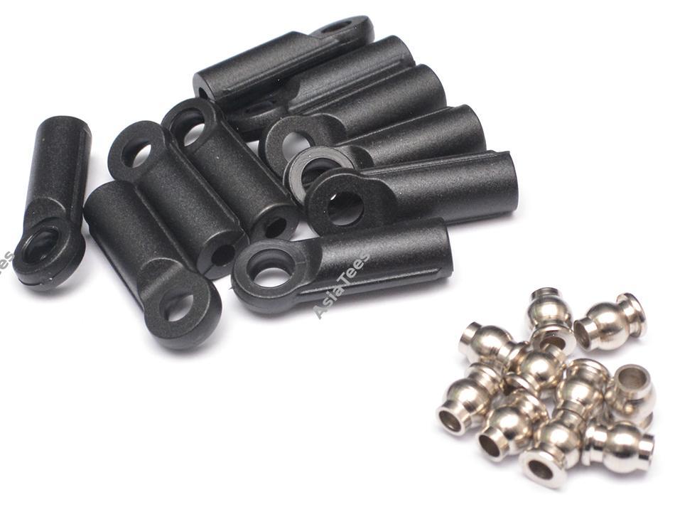 Choisir et trouver des embouts à chape ou embouts à oeil M3 et M4 pas cher avec boule en inox Embout10