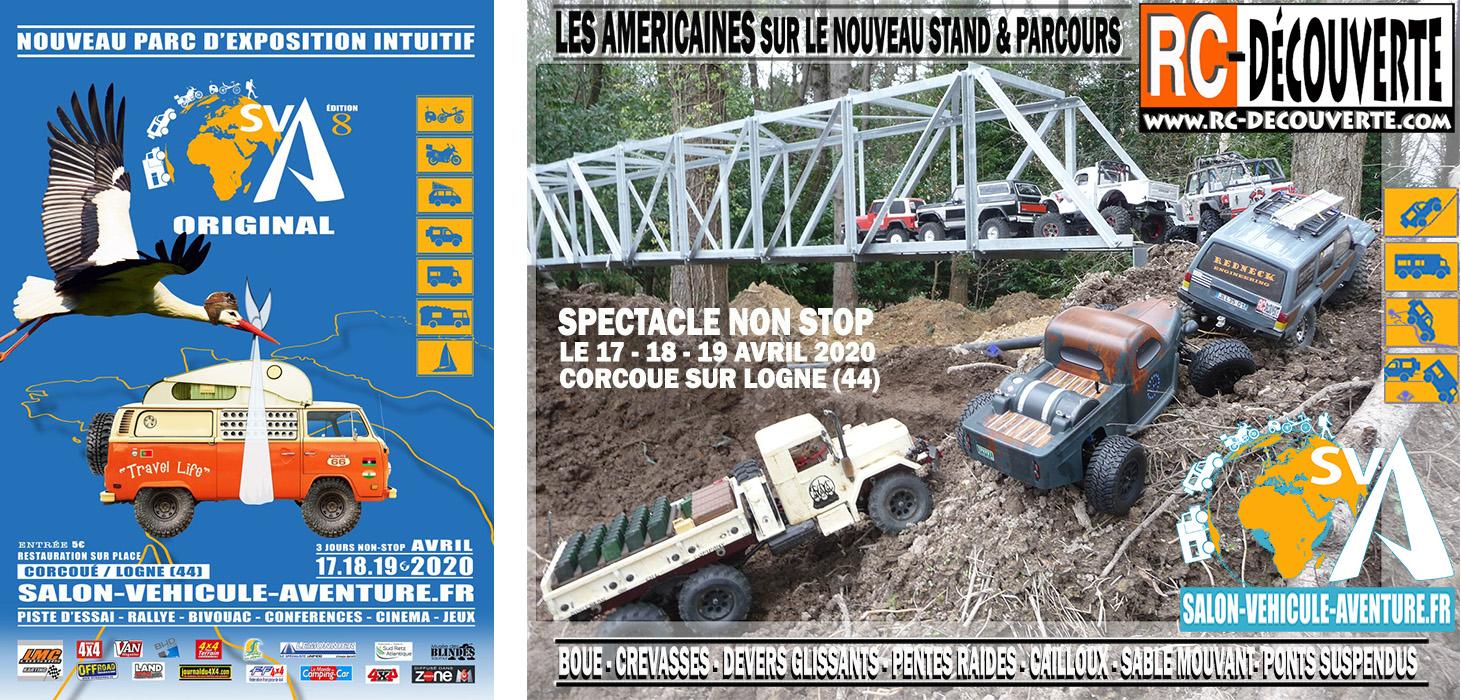 Salon du Véhicule d'Aventure SVA 2020 - Corcoué sur Logne (44) : du 16 au 18 Octobre - Page 5 Esquis12
