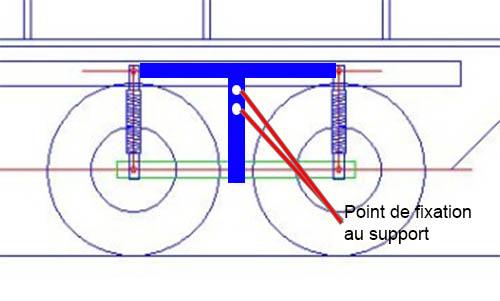Fabriquer un Balancier pour 6x6 et 8x8 Scale Trial et Crawler fait maison et pas cher Fixati10