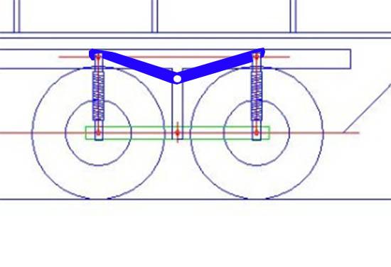Fabriquer un Balancier pour 6x6 et 8x8 Scale Trial et Crawler fait maison et pas cher Fixati12