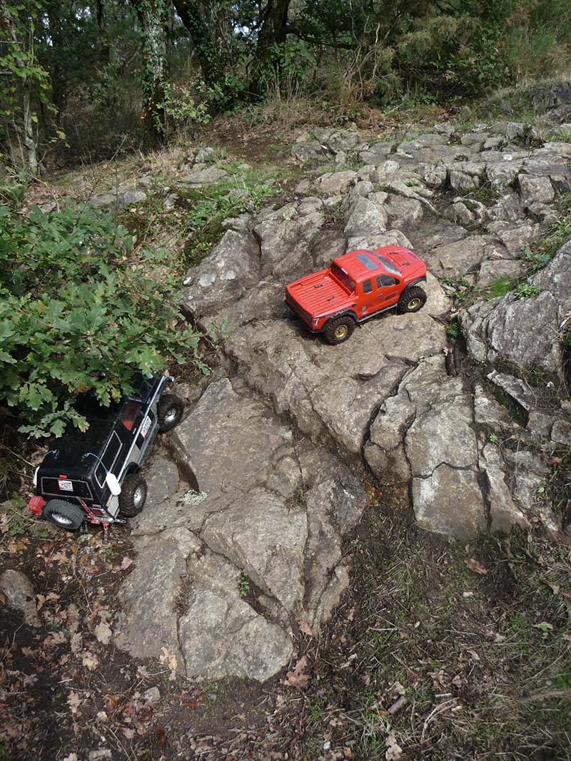 Sorties Rc Scale et Crawler tout terrain 4x4 en Loire Atlantique 44 Octobre 2020 Gorges16