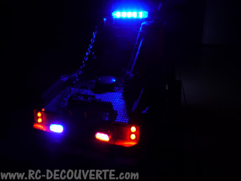 Mon camion de pompier SCFX RC Scale 1/10 Gyro-311