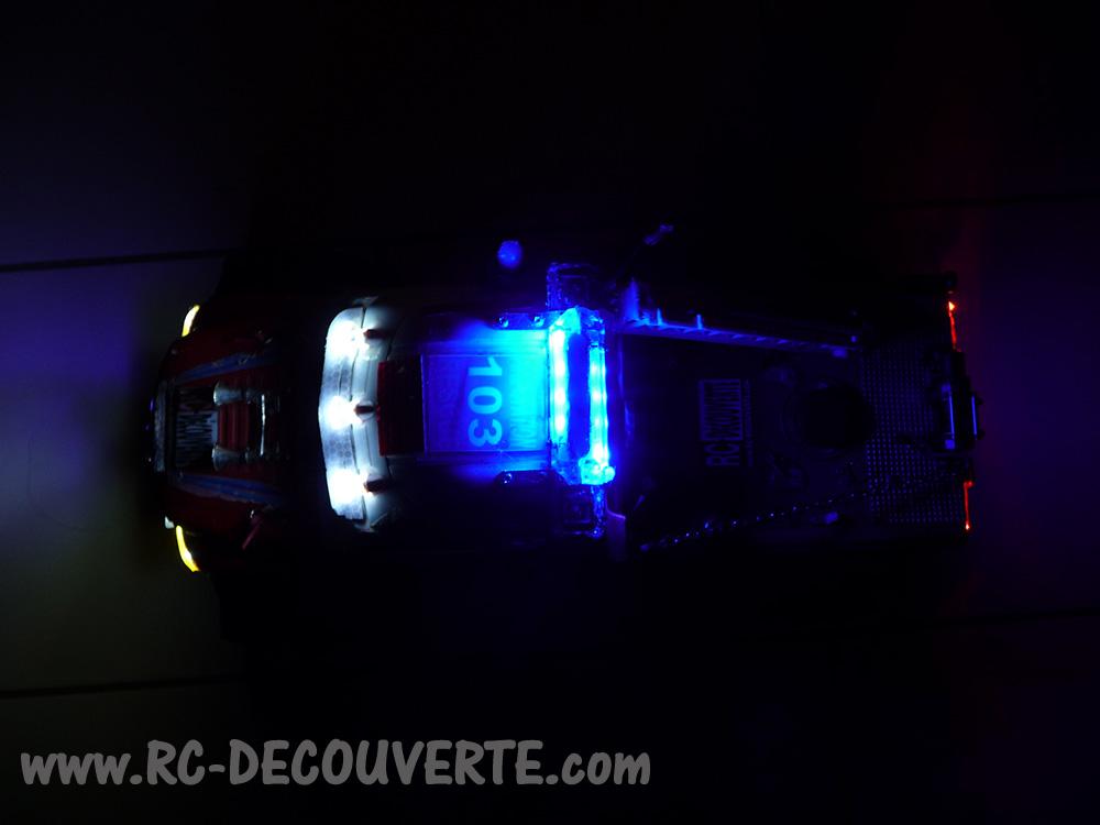 Mon camion de pompier SCFX RC Scale 1/10 Gyro-410