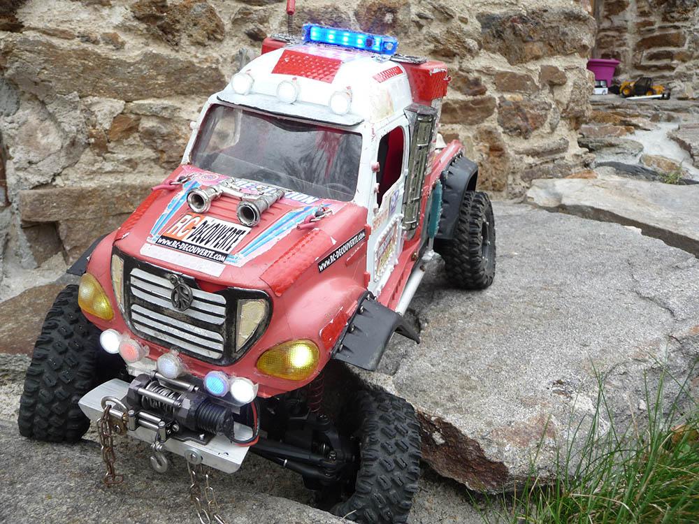 Mon camion de pompier SCFX RC Scale 1/10 Gyro-c11