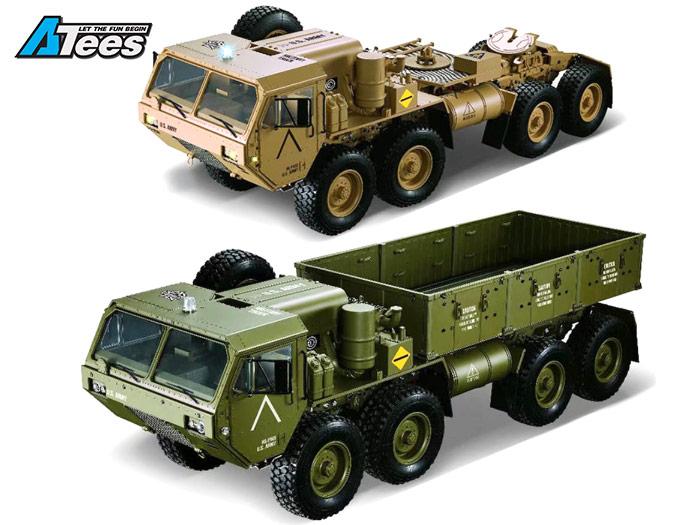 Camion Militaire 8X8 HG P 801 et P802 M977 et M983 1/12 RTR Hg-80112