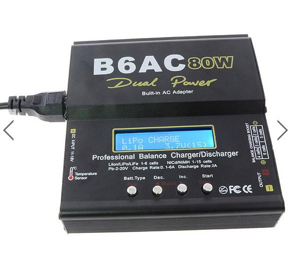 Choisir son chargeur de Batterie ou Accus pour débutants en Scale Trial 4x4 Franchisseur Off-road Imax-b10