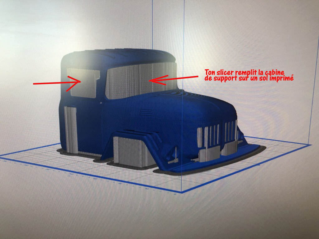 Camion Zil 131 6x6 impression 3D avec balancier totalement fait maison Img_5910