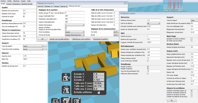 Alfawise U20 One : la nouvelle imprimante 3D de Louloux ! - Page 2 Imprim15