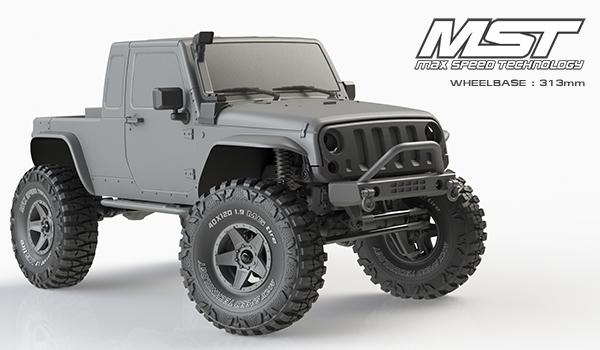 MST CFX-W Jeep JP1 Lexan 313mm : nouveauté Jeep-j10