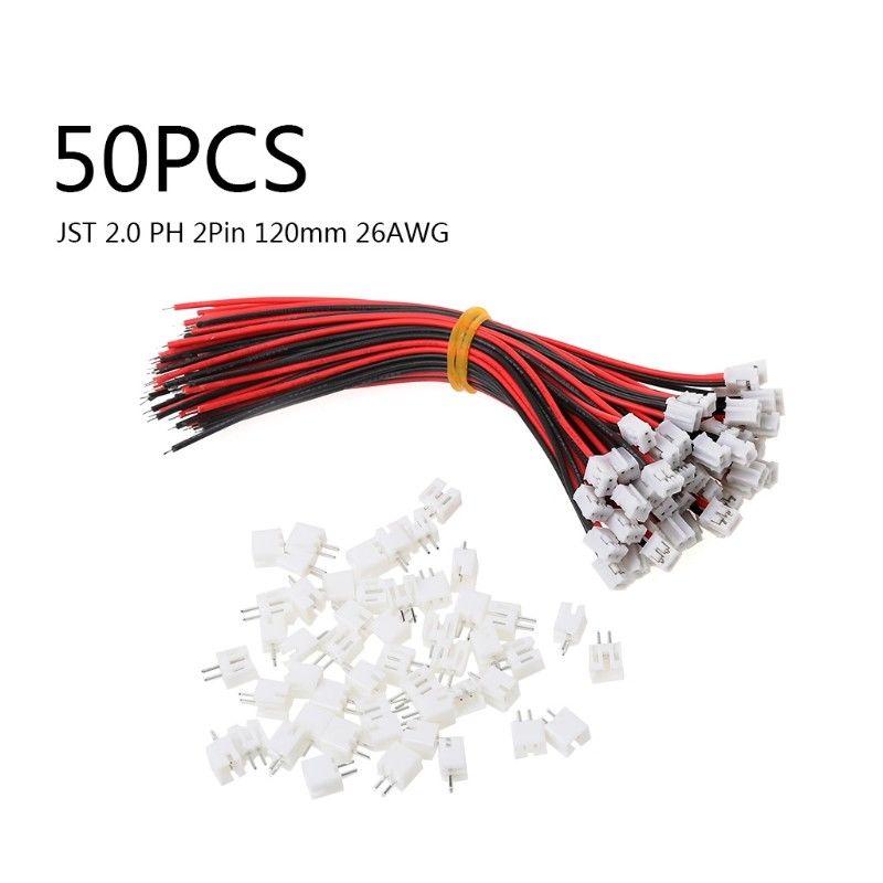 Les différents connecteurs et prises RC Jst-mi10