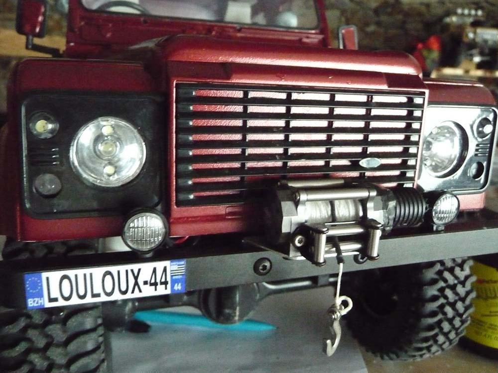 Rc4wd Gelande 2 Land Rover Defender D90 : Présentation et Modification - Page 6 Led-da11