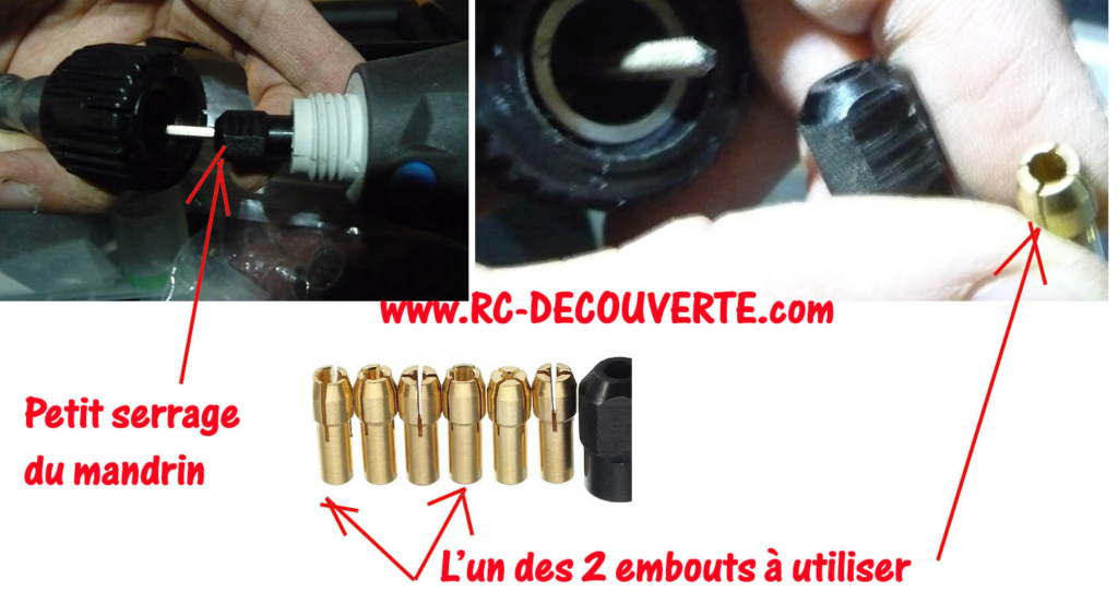 Modification d'un outil multifonction type dremel Macallister MSRT130 et que valent les accessoires dremel chinois ? Mcalis10
