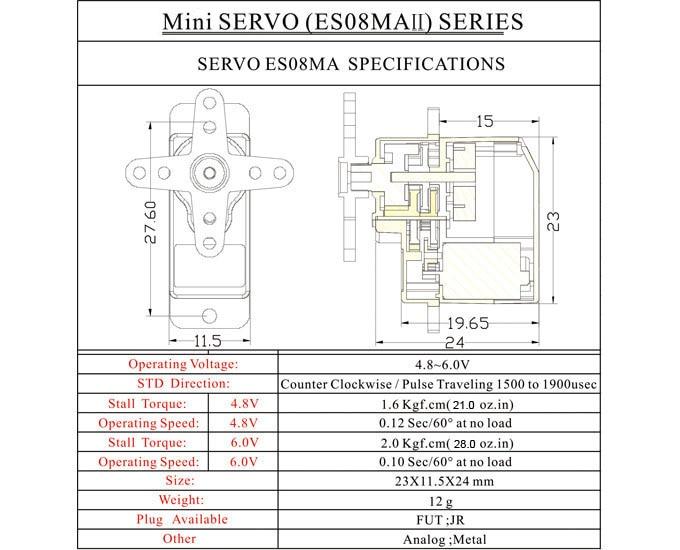 Micro servo en remplacement des 2065 du TRX-4 : différentiel et boite de vitesse - Page 3 Micro-12
