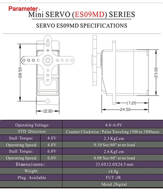 Micro servo en remplacement des 2065 du TRX-4 : différentiel et boite de vitesse - Page 3 Micro-14