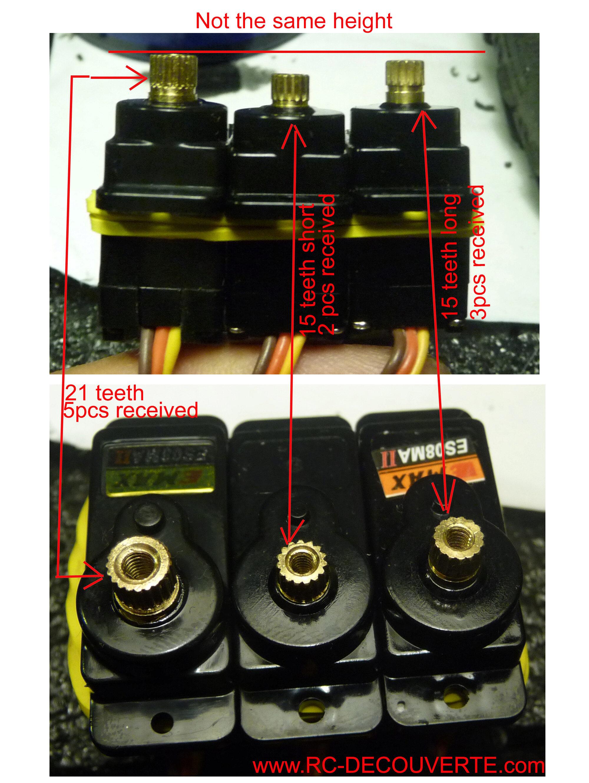 Micro servo en remplacement des 2065 du TRX-4 : différentiel et boite de vitesse - Page 10 Micro-15