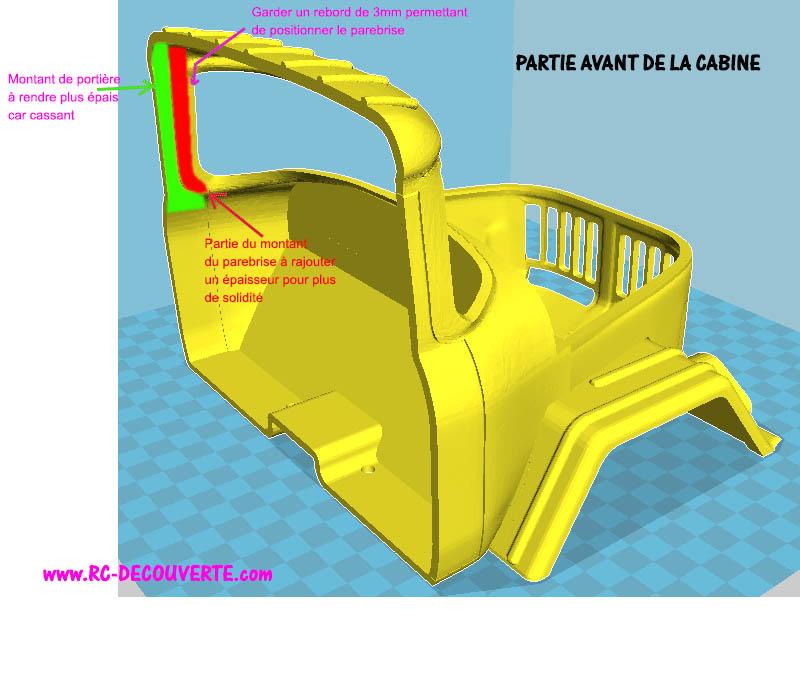 Camion Zil 131 6x6 impression 3D Modif-11