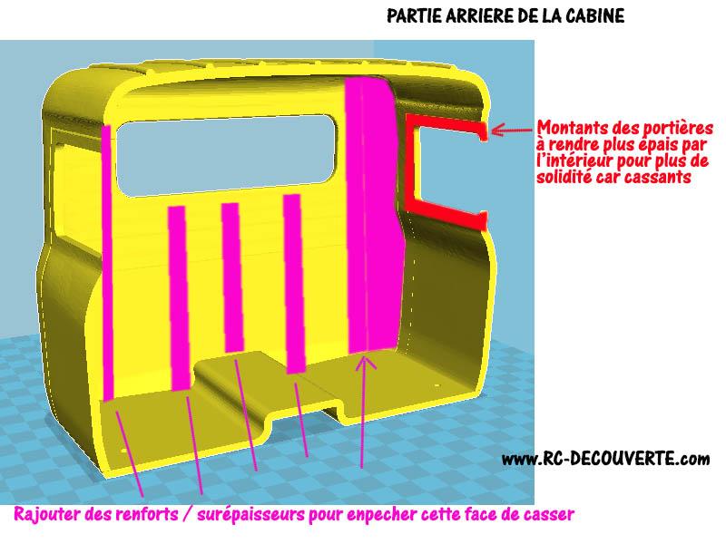 Camion Zil 131 6x6 impression 3D Modif-12