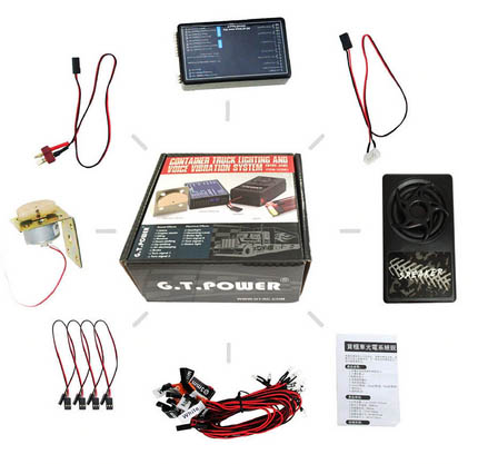 Kit ou module de son avec ou sans vibration et éclairage Module10