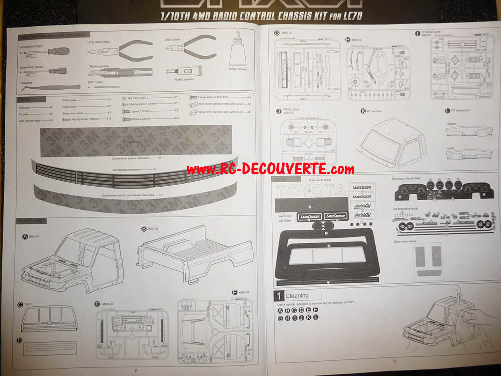 Montage carrosserie Toyota Land Cruiser LC70 Killerbody du Kit BRX01 - Page 2 Notice15