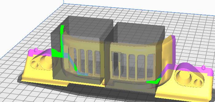 Camion Zil 131 6x6 impression 3D avec balancier totalement fait maison - Page 4 Parame13