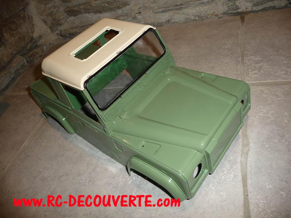 Fabrication Land Rover Pickup Defender D90 pour Léo - Page 5 Peintu12