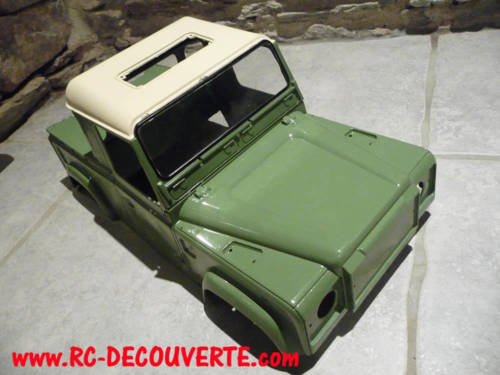 Fabrication Land Rover Pickup Defender D90 pour Léo - Page 5 Peintu13