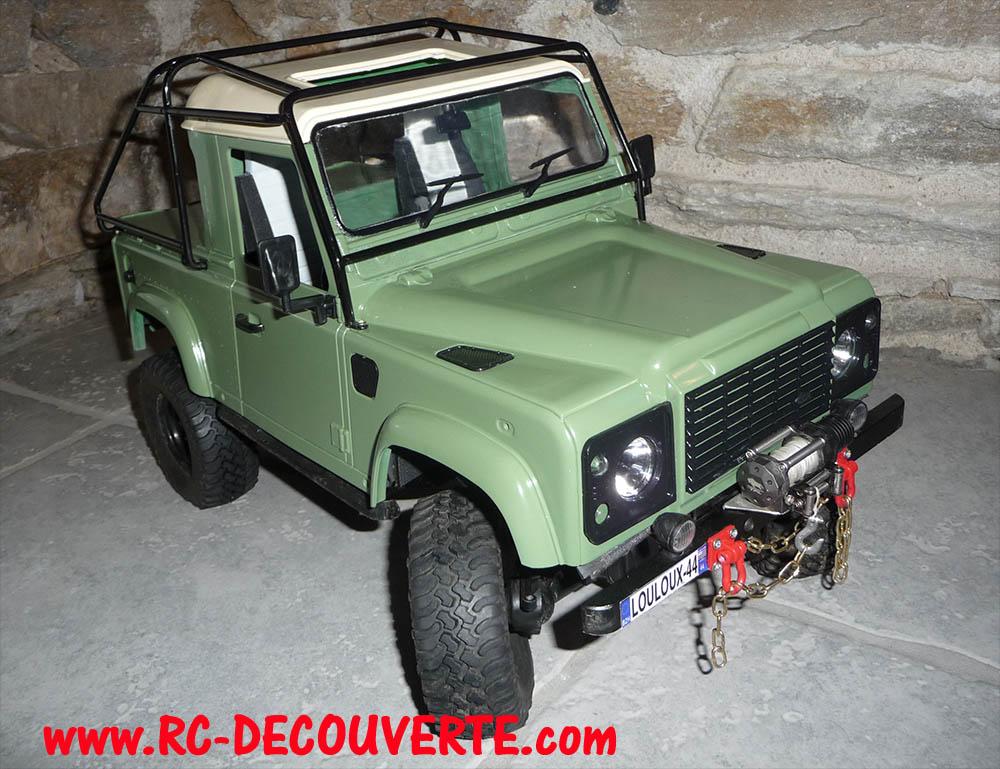 Fabrication Land Rover Pickup Defender D90 pour Léo - Page 6 Peintu18