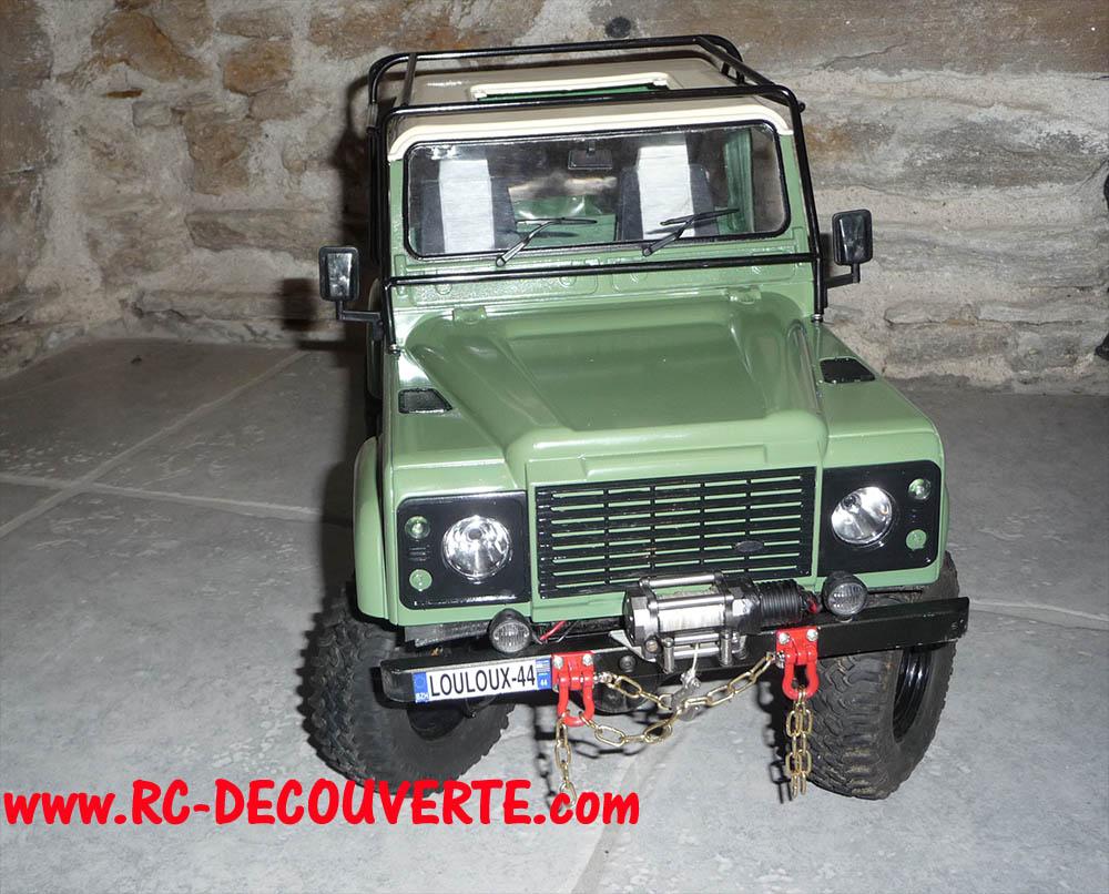 Fabrication Land Rover Pickup Defender D90 pour Léo - Page 6 Peintu20