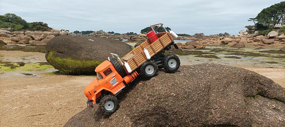 Camion Zil 131 6x6 impression 3D avec balancier totalement fait maison - Page 11 Peros-13