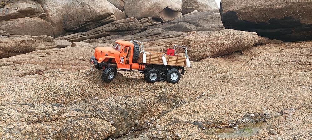 Camion Zil 131 6x6 impression 3D avec balancier totalement fait maison - Page 11 Peros-14