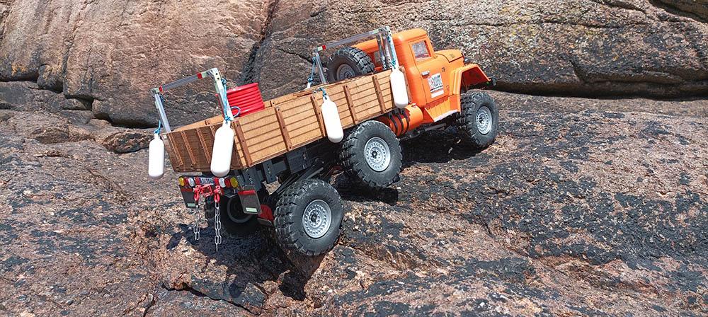 Camion Zil 131 6x6 impression 3D avec balancier totalement fait maison - Page 11 Peros-19