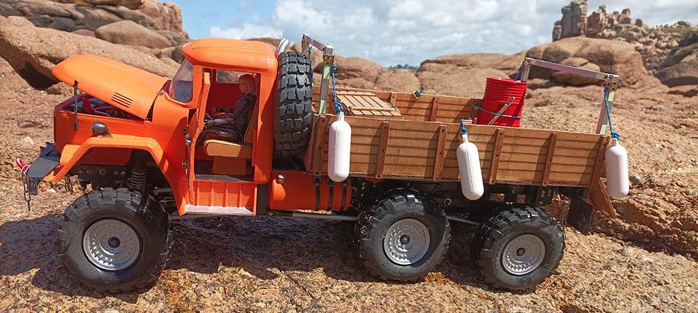 Camion Zil 131 6x6 impression 3D avec balancier totalement fait maison - Page 11 Peros-24