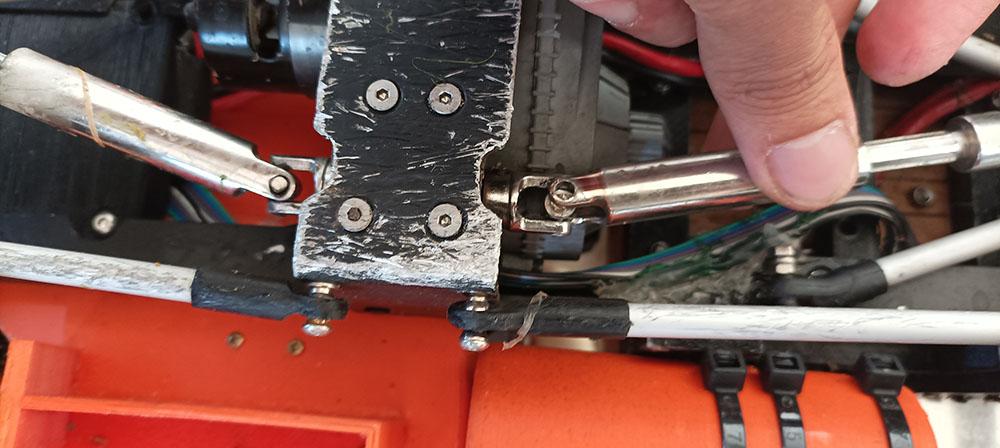 Camion Zil 131 6x6 impression 3D avec balancier totalement fait maison - Page 12 Peros-34