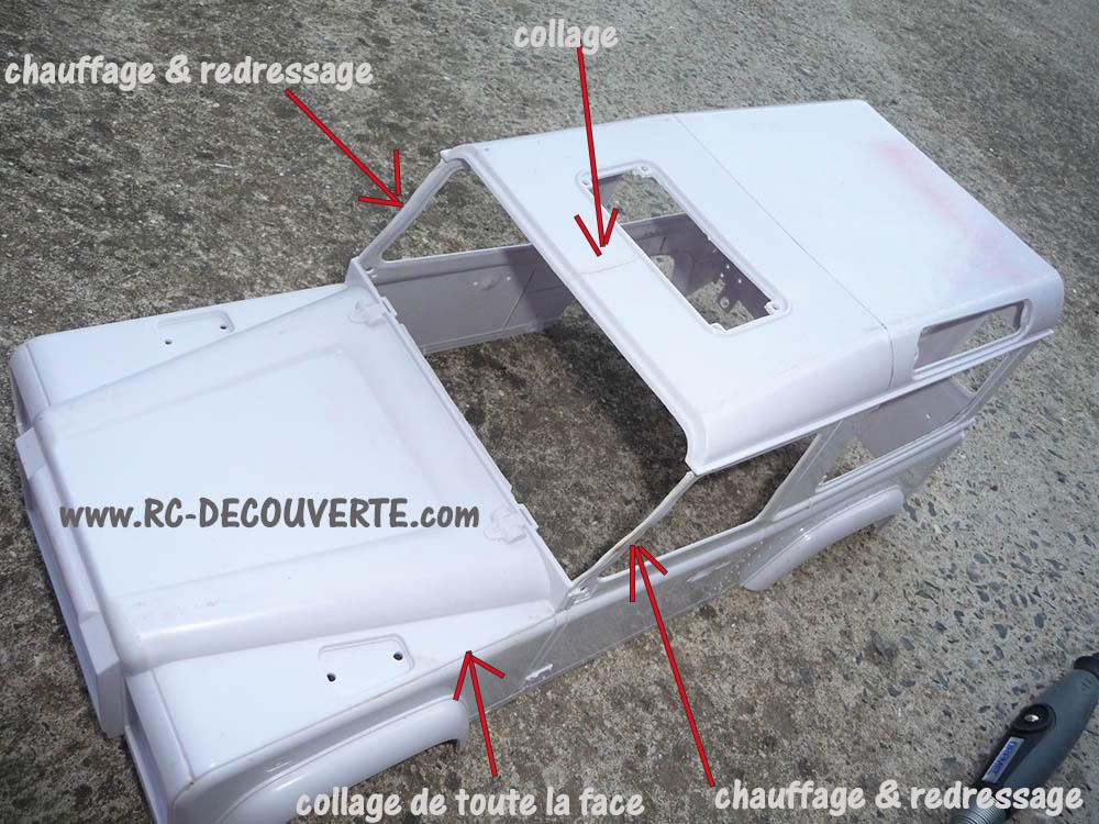Fabrication Land Rover Pickup Defender D90 pour Léo Pickup10