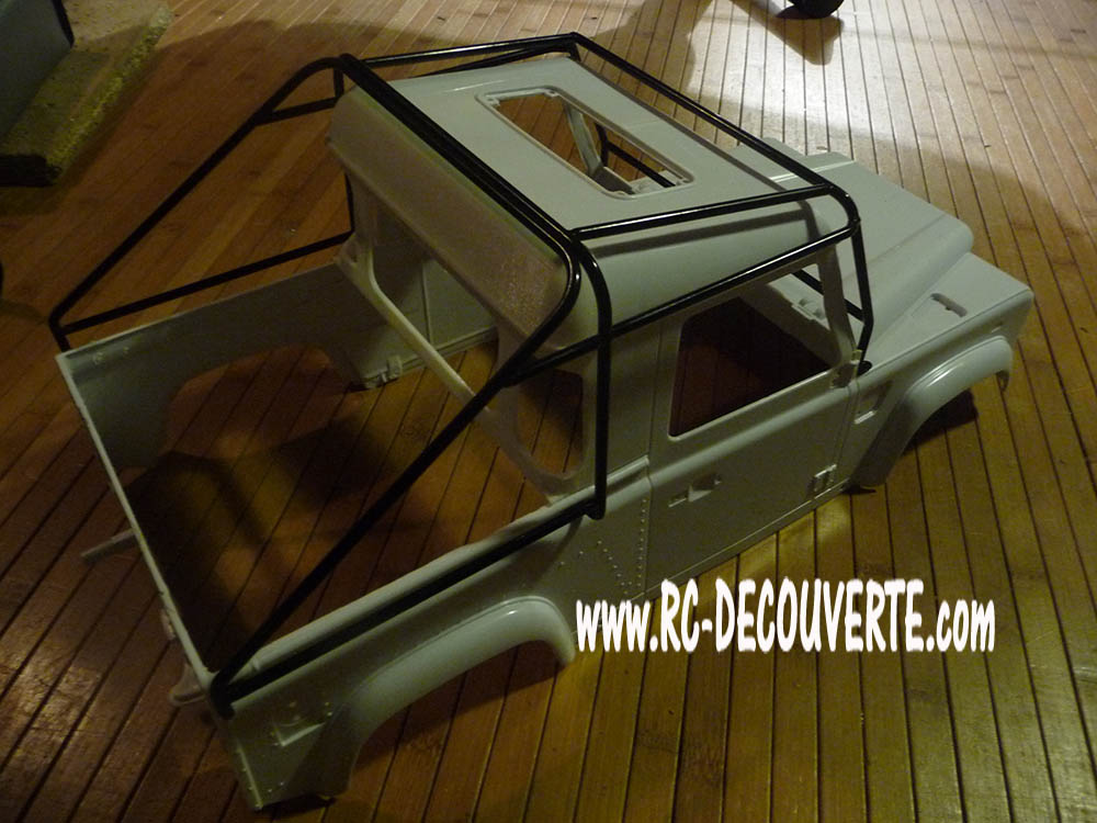 Fabrication Land Rover Pickup Defender D90 pour Léo Pickup14