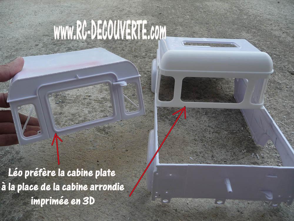 Fabrication Land Rover Pickup Defender D90 pour Léo Pickup15