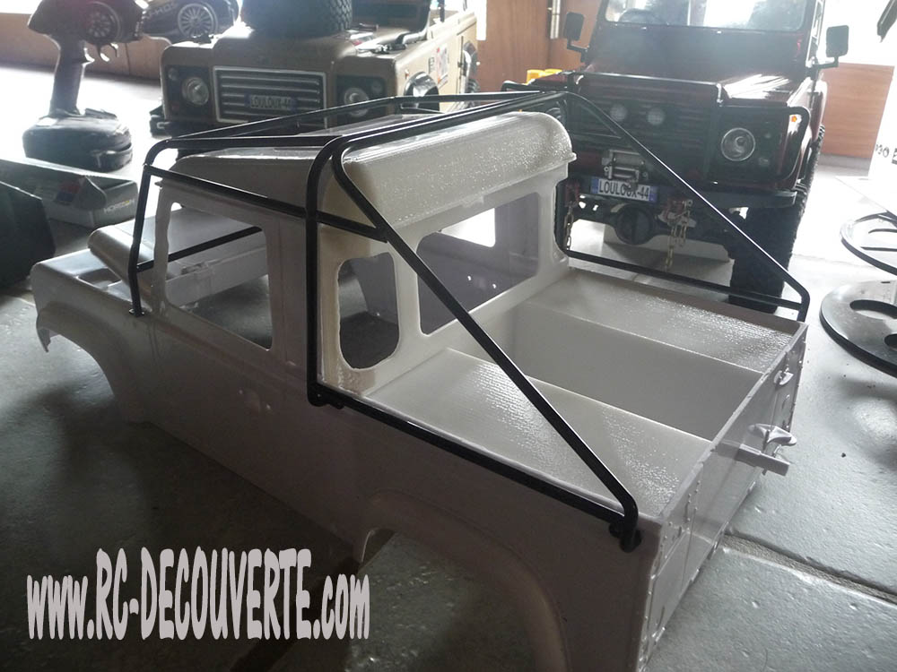 Fabrication Land Rover Pickup Defender D90 pour Léo Pickup17