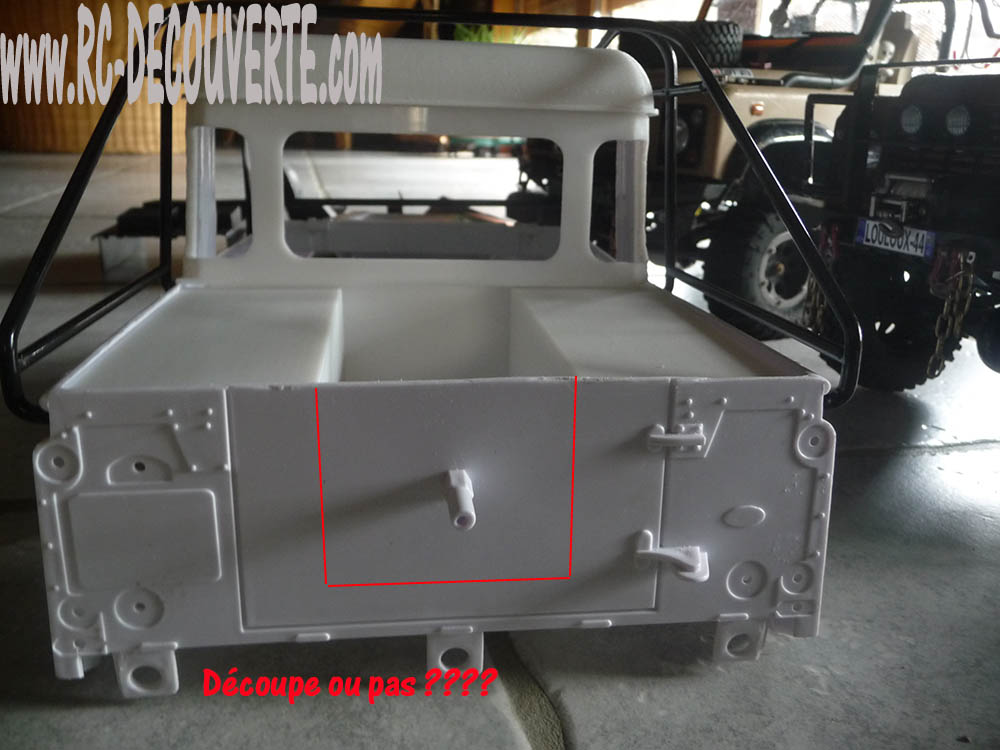 Fabrication Land Rover Pickup Defender D90 pour Léo Pickup19