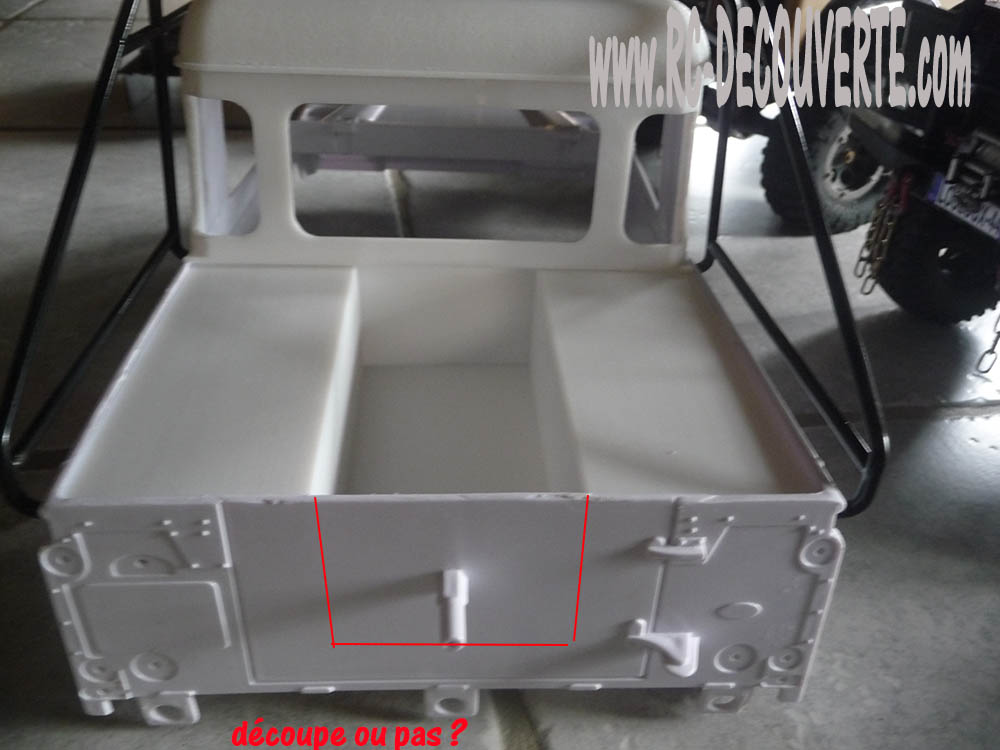 Fabrication Land Rover Pickup Defender D90 pour Léo Pickup20