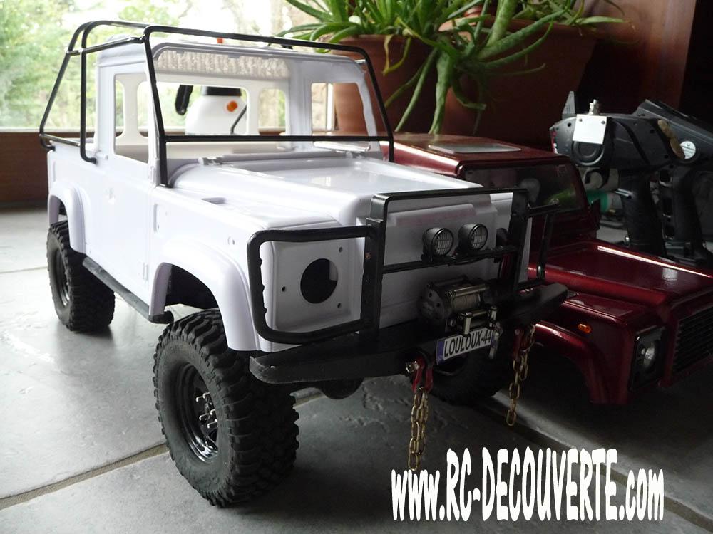Fabrication Land Rover Pickup Defender D90 pour Léo Pickup22