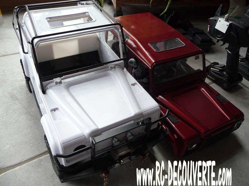 Fabrication Land Rover Pickup Defender D90 pour Léo Pickup23