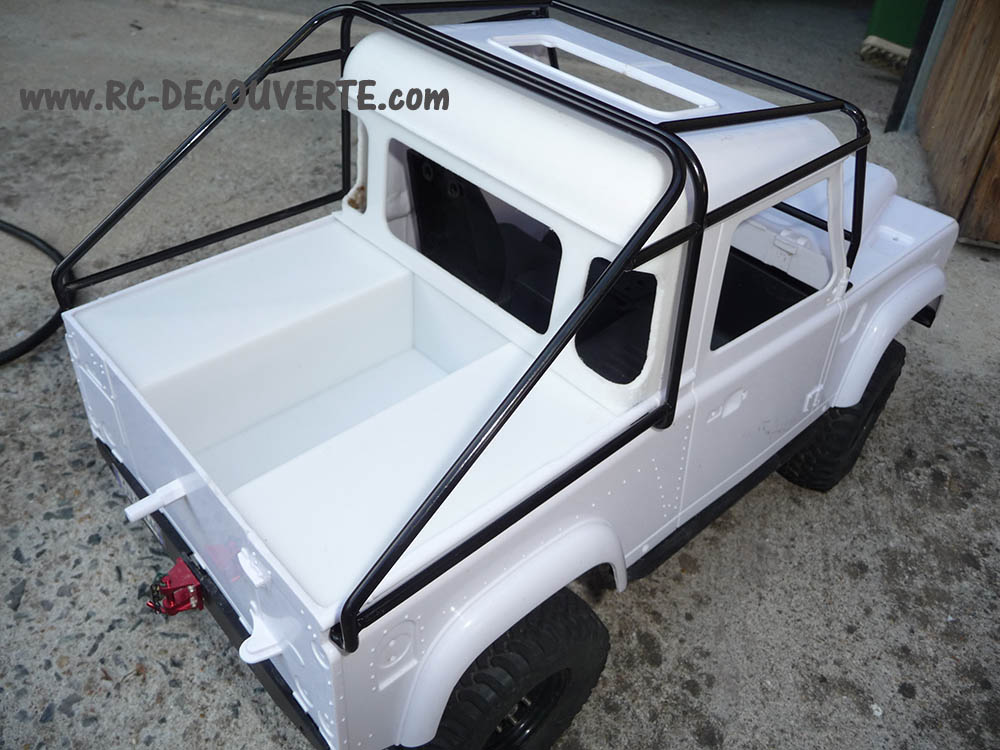 Fabrication Land Rover Pickup Defender D90 pour Léo - Page 3 Pickup29
