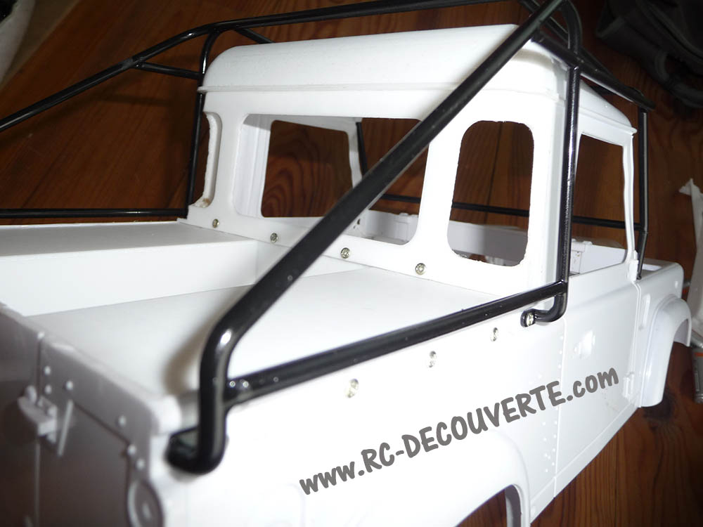Fabrication Land Rover Pickup Defender D90 pour Léo - Page 3 Pickup31