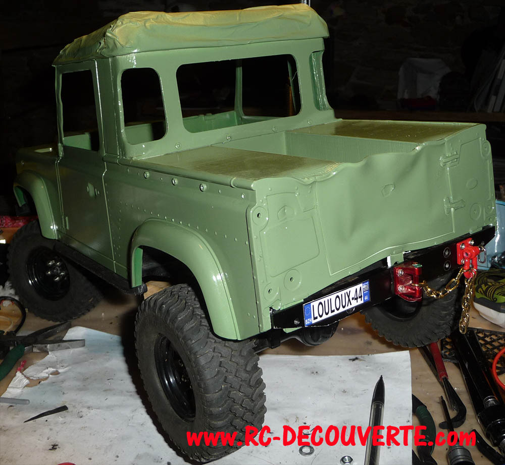 Fabrication Land Rover Pickup Defender D90 pour Léo - Page 3 Pickup33