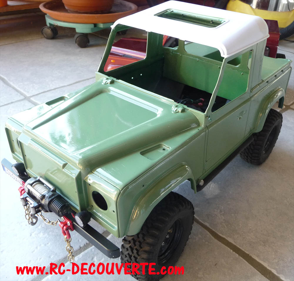 Fabrication Land Rover Pickup Defender D90 pour Léo - Page 4 Pickup35